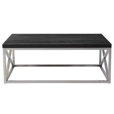 Park Ridge Coffee Table Table Top Color: Black