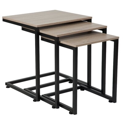 Nault 3 Piece Nesting Tables