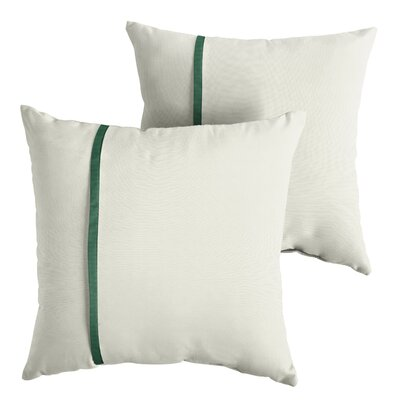 Folkes Sunbrella Indoor/Outdoor Throw Pillow Size: 22 x 22