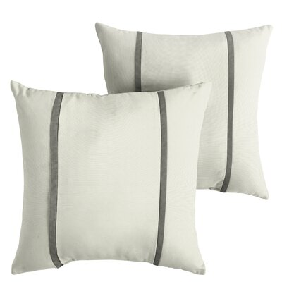 Hollman Sunbrella Indoor/Outdoor Throw Pillow Size: 22 x 22