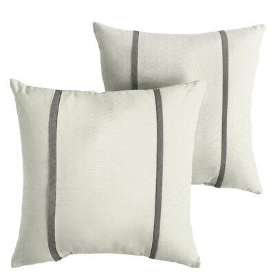 Hollman Sunbrella Indoor/Outdoor Throw Pillow Size: 18 x 18