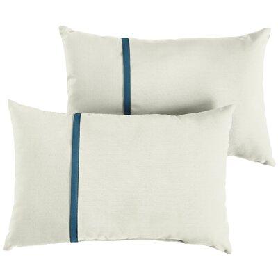 Forgey Sunbrella Indoor/Outdoor Lumbar Pillow Size: 12 x 24