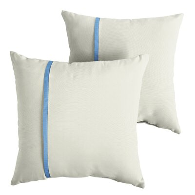 Hiller Sunbrella Indoor/Outdoor Throw Pillow Size: 18 x 18