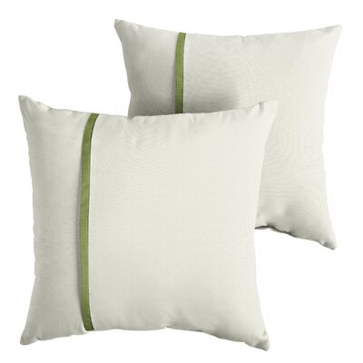 Forsberg Sunbrella Indoor/Outdoor Throw Pillow Size: 22 x 22