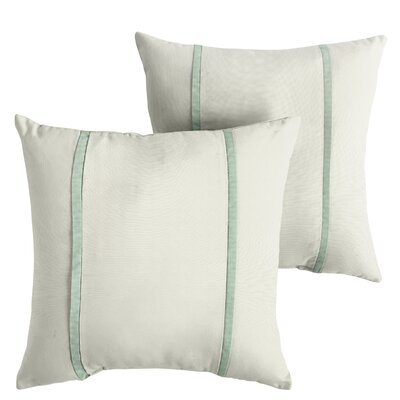 Holloman Sunbrella Indoor/Outdoor Throw Pillow Size: 22 x 22