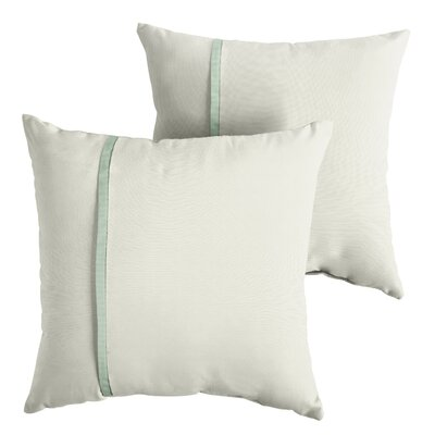 Forster Sunbrella Indoor/Outdoor Throw Pillow Size: 22 x 22