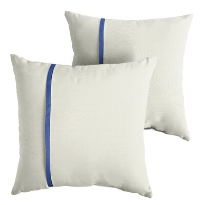 Fleishman Sunbrella Indoor/Outdoor Throw Pillow Size: 22 x 22