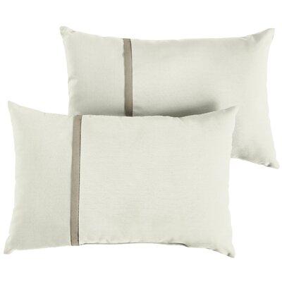 Fortunato Sunbrella Indoor/Outdoor Lumbar Pillow Size: 13 x 20