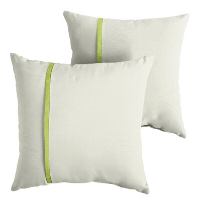 Fluellen Sunbrella Indoor/Outdoor Throw Pillow Size: 18 x 18