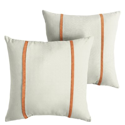 Holdsworth Sunbrella Indoor/Outdoor Throw Pillow Size: 22 x 22