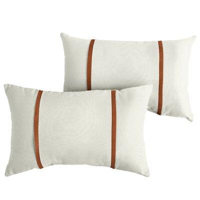 Flaugher Sunbrella Indoor/Outdoor Lumbar Pillow Size: 13 x 20