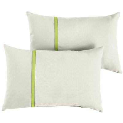 Follis Sunbrella Indoor/Outdoor Lumbar Pillow Size: 12 x 24