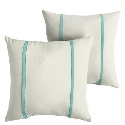 Holmberg Sunbrella Indoor/Outdoor Throw Pillow Size: 22 x 22