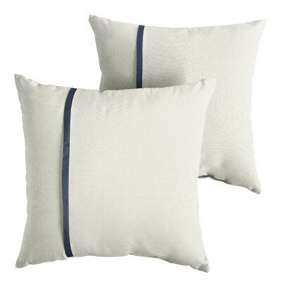 Forbell Sunbrella Indoor/Outdoor Throw Pillow Size: 22 x 22