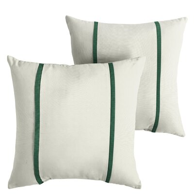 Holford Sunbrella Indoor/Outdoor Throw Pillow Size: 22 x 22