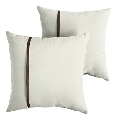 Flickinger Sunbrella Indoor/Outdoor Throw Pillow Size: 22 x 22