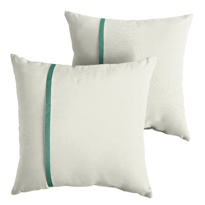 Focht Sunbrella Indoor/Outdoor Throw Pillow Size: 18 x 18