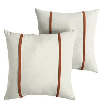 Hollenbeck Sunbrella Indoor/Outdoor Throw Pillow Size: 18 x 18