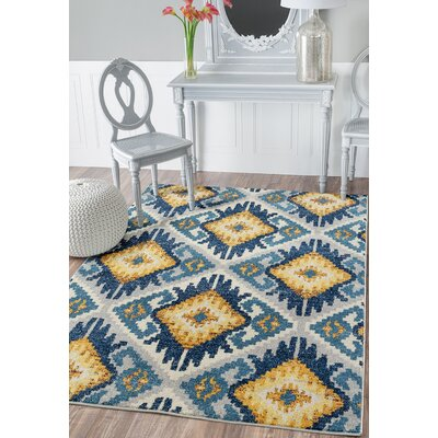 Dietz Midnight Blue Area Rug Rug Size: Rectangle 110 x 3