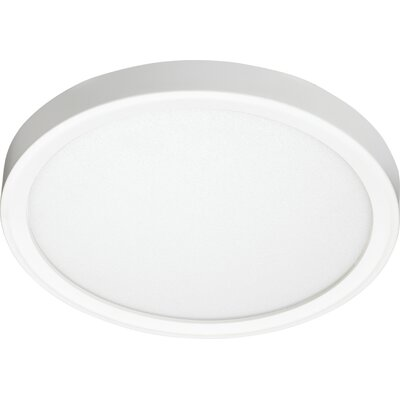 Juno 1-Light LED Flush Mount Color Temperature: 3500K