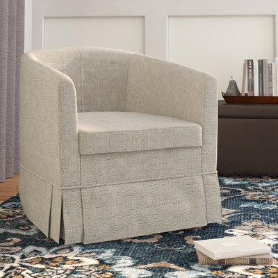 Clifford Barrel Chair Upholstery: Beige