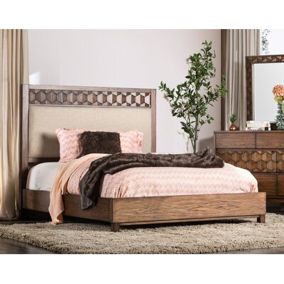 Keefe Upholstered Panel Bed