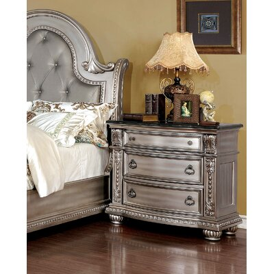 Highbury 2 Drawer Nightstand
