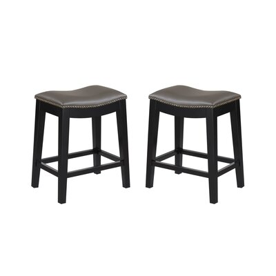 Bagshaw 24 Bar Stool Color: Gray