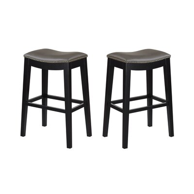 Bagshaw  30 Bar Stool Color: Gray