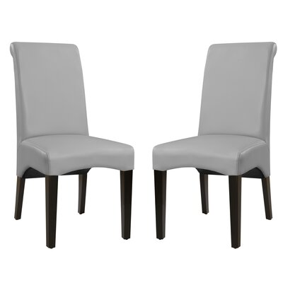 Bagshaw Upholstered Dining Chair Upholstery Color: Cement