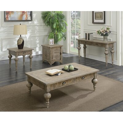 Lafontaine 4 Piece Coffee Table Set