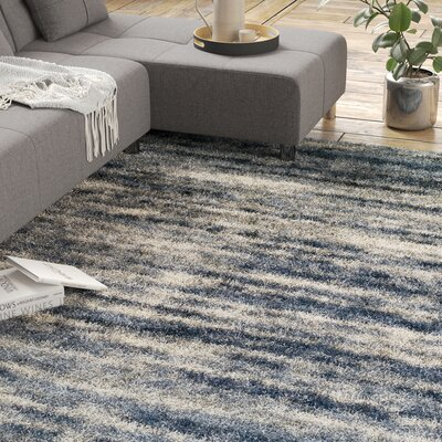 Zhora Denim Area Rug Rug Size: Rectangle 96 x 132