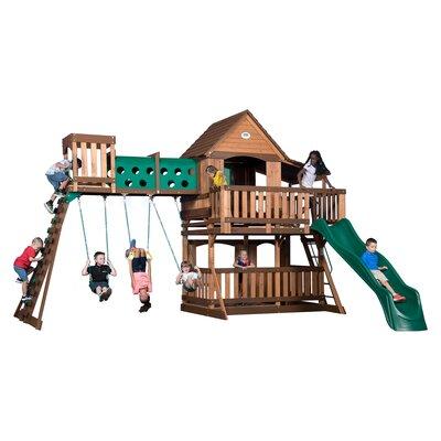 Woodridge Elite All Cedar Wooden Swing Set 1801080