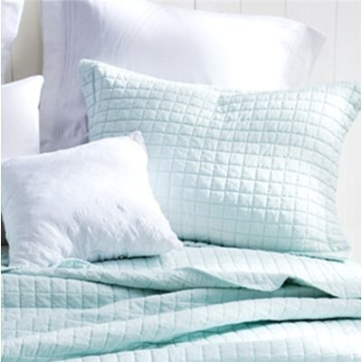 Cripe Sham Size: Standard, Color: Hint of Mint