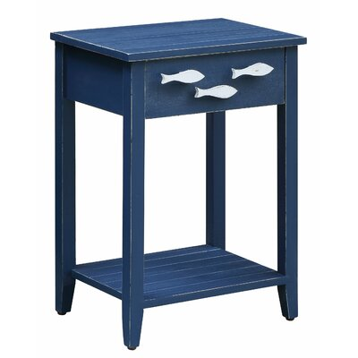 Harr Nautical End Table with Storage