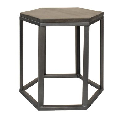 Dieter Hexagon End Table