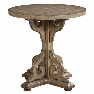 Quarles Scroll End Table