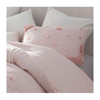 Kucera Petals Handsewn Sham Color: Soft Ice Pink