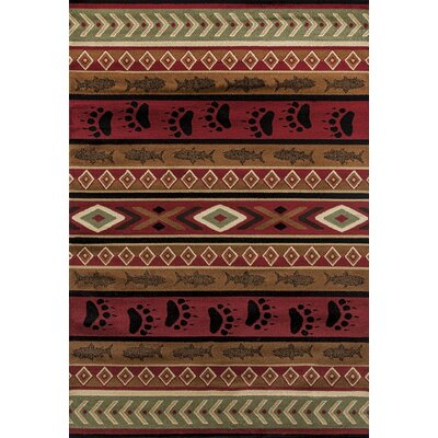 Pippen Huntsman Trail Brown Area Rug Rug Size: Rectangle 53 x 72