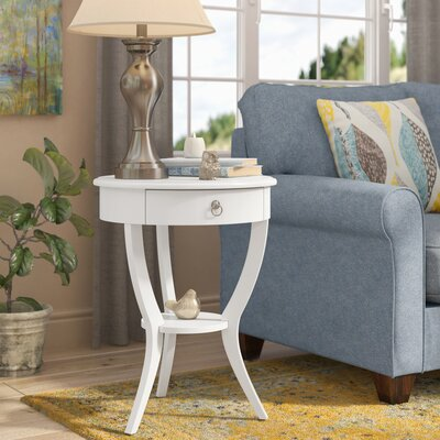 Beekman End Table With Storage� Color: White