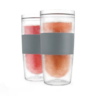Tumbler Freeze Plastic Pint Glass 4271