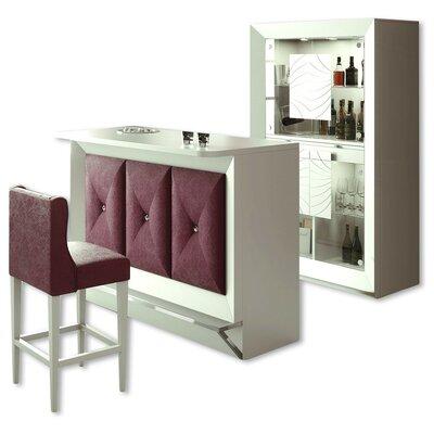 Fernwood Bar Set Color: High Gloss