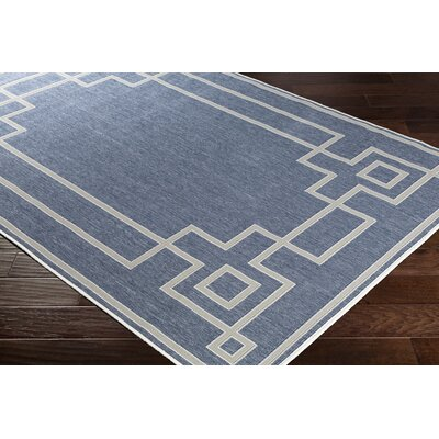Pearce Charcoal/Taupe Indoor/Outdoor Area Rug Rug Size: Rectangle 53 x 76