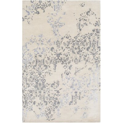 Osvaldo Floral Hand-Tufted Moss Area Rug Rug Size: Rectangle 8 x 11