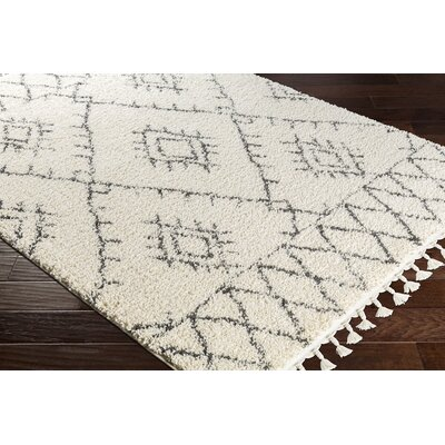 Eades Bohemian Beige Area Rug Rug Size: Rectangle 92 x 112