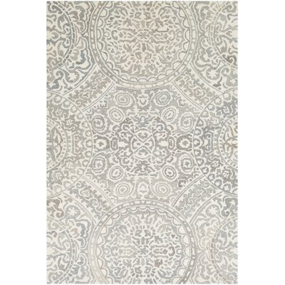 Eady Hand-Hooked Wool Camel/Cream Area Rug Rug Size: Rectangle 2 x 3