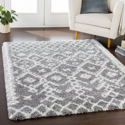 Longstreet Bohemian Taupe/Cream Area Rug Rug Size: Rectangle 67 x 96