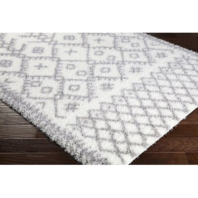 Longstreet Bohemian Cream/Taupe Area Rug Rug Size: Rectangle 67 x 96