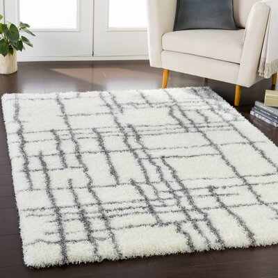 Zachariah Bohemian Cream/Taupe Area Rug Rug Size: Rectangle 53 x 73