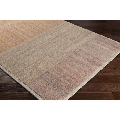 Ciccone Hand-Tufted Wool Saffron/Orange Area Rug Rug Size: Rectangle 2 x 3